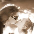 Sepia Kisses by down23