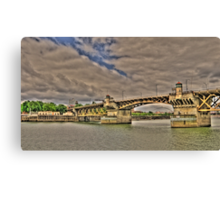 Portland Or Bridge 2 Canvas Print