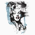 Splatter Marilyn by Kenji Hasegawa