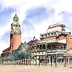 Post Office Tower ,Hannan St, Kalgoorlie. West Australia. by robynart