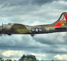 B17 Flying Fortress - Pink Lady by SimplyScene