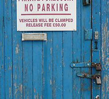 No Parking by pcimages