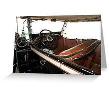 Charles Lindberg's 1927 Packard - 3 Greeting Card