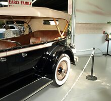 Charles Lindberg's 1927 Packard - 5 by Barry W  King