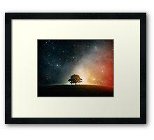 Cosmosition Framed Print