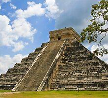 Kukulkan Pyramid by Nickolay Stanev