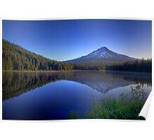 Dawn On Trillium Lake Poster