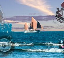 Spirit of Mystery Montage (Best Viewed Larger) by Les Boucher