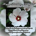Daughter Birthday by Greeting Cards by Tracy DeVore