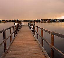 Approching Rain Cloud At Shelley - Western Australia by EOS20