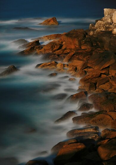Moon Tide by Geoff  Coleman - Landscapes
