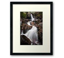 Upper Toorongo Falls Framed Print