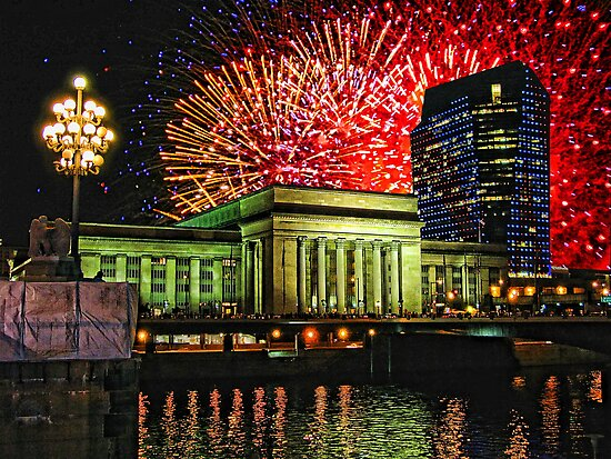 4th of July, 30th Street Station, Philadelphia. by vadim19