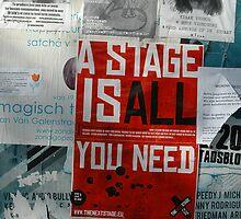 A stage is... by Diego Marando