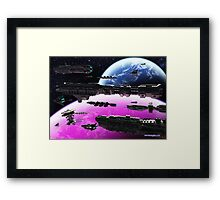 Fleet Maneuvers Framed Print