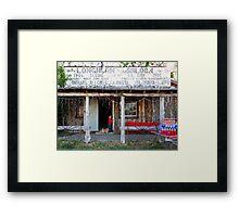 Longhorn Saloon Framed Print