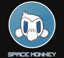 Space Monkey LAN T-shirt by stylage