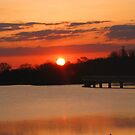 Morning Sunrise At Grays Lake by Linda Miller Gesualdo