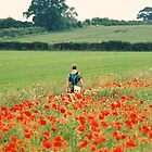 Walking in the Poppy Fields by Kirsty Smith