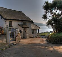 The Pilchard Inn - Burgh Island by seentwistle