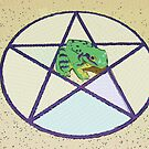 Pentacle & Frog by peyote