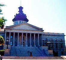 South Carolina State House in the Sun by JGhelardini