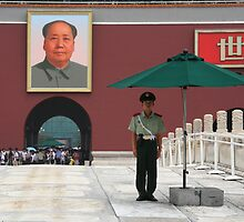 Forbidden Palace Guard, Beijing by Martin How