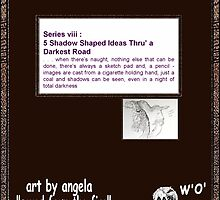 viii-5 Shadow Shaped Ideas-cover_artbyangela by artbyangela