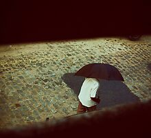 Alone in the Rain by ghastly