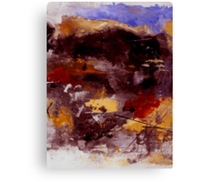 Voyage Of Uncertainty Canvas Print