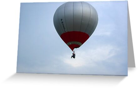 Man and Balloon Sky Hopper by ienemien