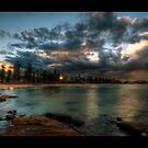 Manly Beach, Sydney. by baddoggy