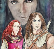 Faye - Tiernan - Arawn by morgansartworld