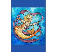 Mermaid Dancer Photographic Print