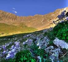 Mayflower Gulch at Sunset by Jeanne Frasse