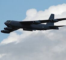 B52 In flight by imageworld