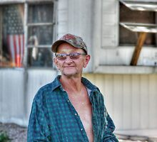 Retired in Bucyrus, Kansas. by Delany Dean