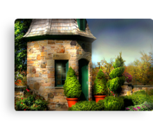 """ The  Garden House "" Canvas Print"