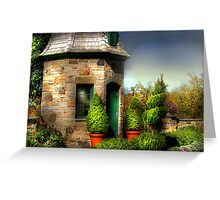 """"""" The  Garden House """" Greeting Card"""