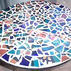 mosaic table top by catherine walker