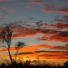 Simpson Desert Sunrise by A1000WORDS