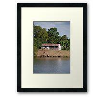 Dumaresq Island Shack Framed Print