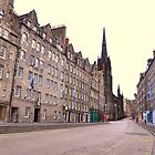 The Royal Mile. by Finbarr Reilly