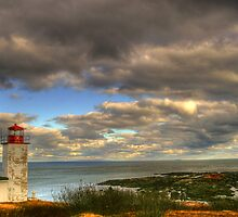 hdr st martins quaco head lighthouse by Jamie Roach