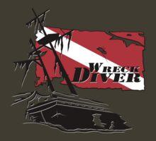 Shipwreck Diver 3 by Karri Klawiter