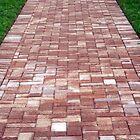 Brick path by kinz4photo