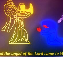 The Angel of the Lord and Mary by Songwriter