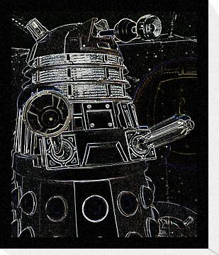 Black Dalek by Susan  Bloss