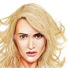 Kate Winslet, A digital Painting by Sundar Singh
