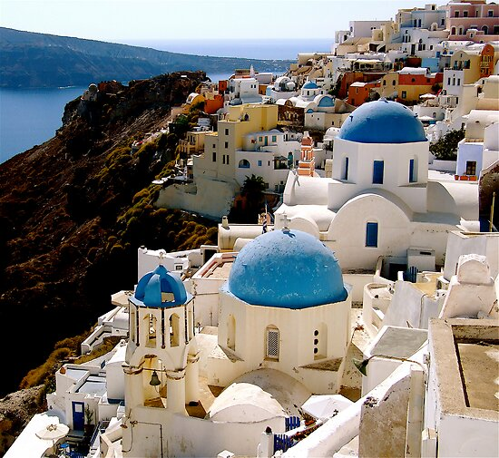 INVITED SANTORINI by Scott  d'Almeida